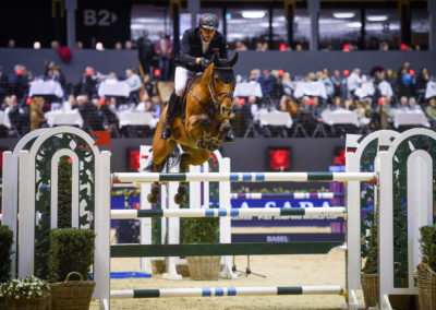 13.01.2019 Marc Houtzager (NED) mit Calimero Longines FEI Jumping World Cup™